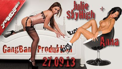 Julie SkyHigh & Anna 27.09.13