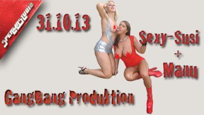 Spermastudio Gangbang Produktion  Sexy-Susi & Manu.