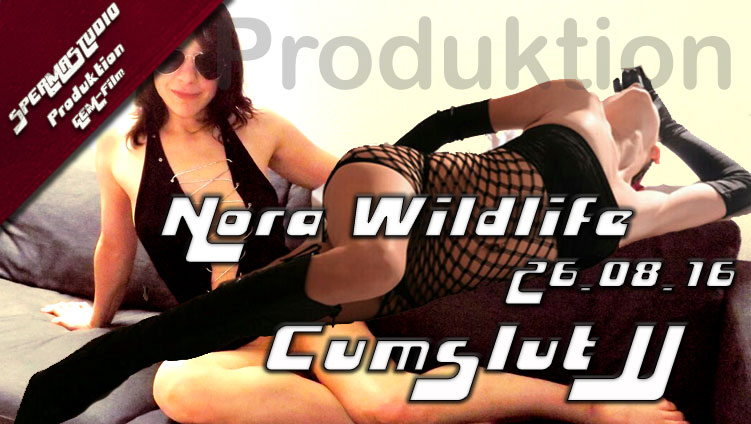 Gangbang-Produktion Nora Wildlife und Cumslut JJ am 26.08.16
