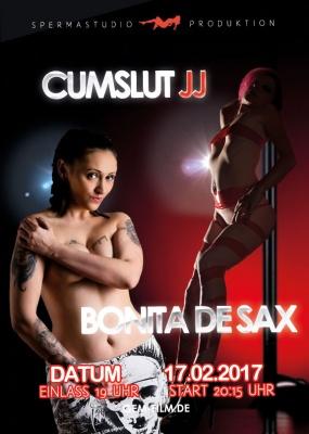 Produktion Bonita de Sax & Cumslut JJ am 17.02.17