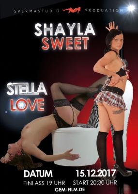 Produktion Schayla Sweet und Stella Love am 15.12.2017 Spermastudio