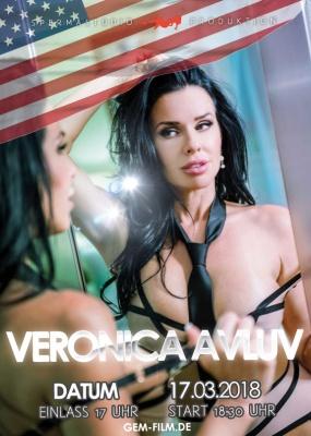 Veronica Avluv im Spermastudio 17.03.2018