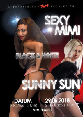 Sexy Mimi & Sunny Sun am 29.06.2018 Spermastudio