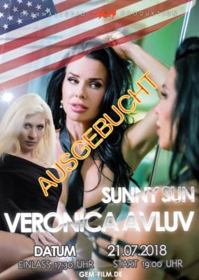 Produktion mit Veronica Avluv und Sunny Sun am Samstag 21.07.2018