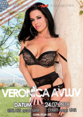 Veronica Avluv am 24.07.2018 im Spermastudio