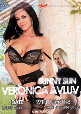 Production with Veronica Avluv and Sunny Sun at 27th July 2018
