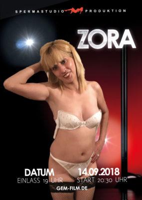 Produktion mit Zora am 14.09.2018