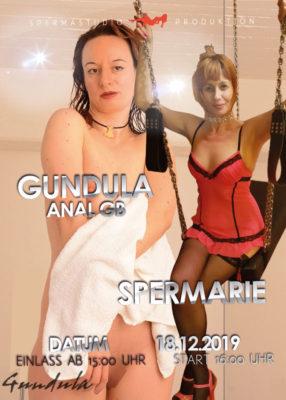 Gundula und SperMarie am 18.12.2019 im Spermastudio