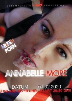 Produktion mit Annabelle More am 01.02.2020 im Spermastudio