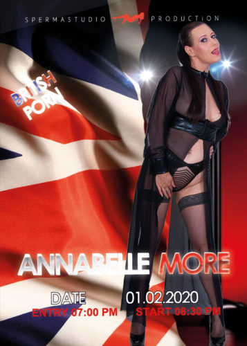 Production with Annabelle More at 01th February 2020 in Spermastudio